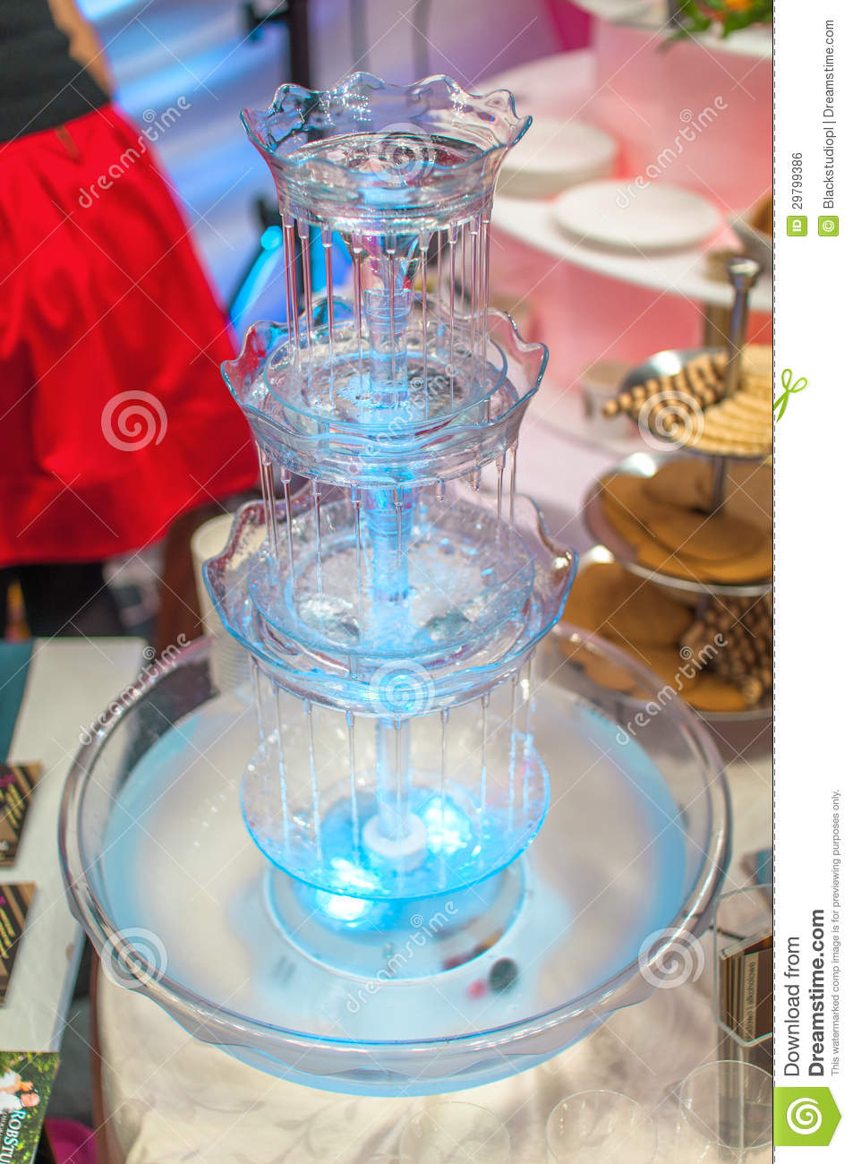 Wedding Fountain Royalty Free Stock Image Image 29799386