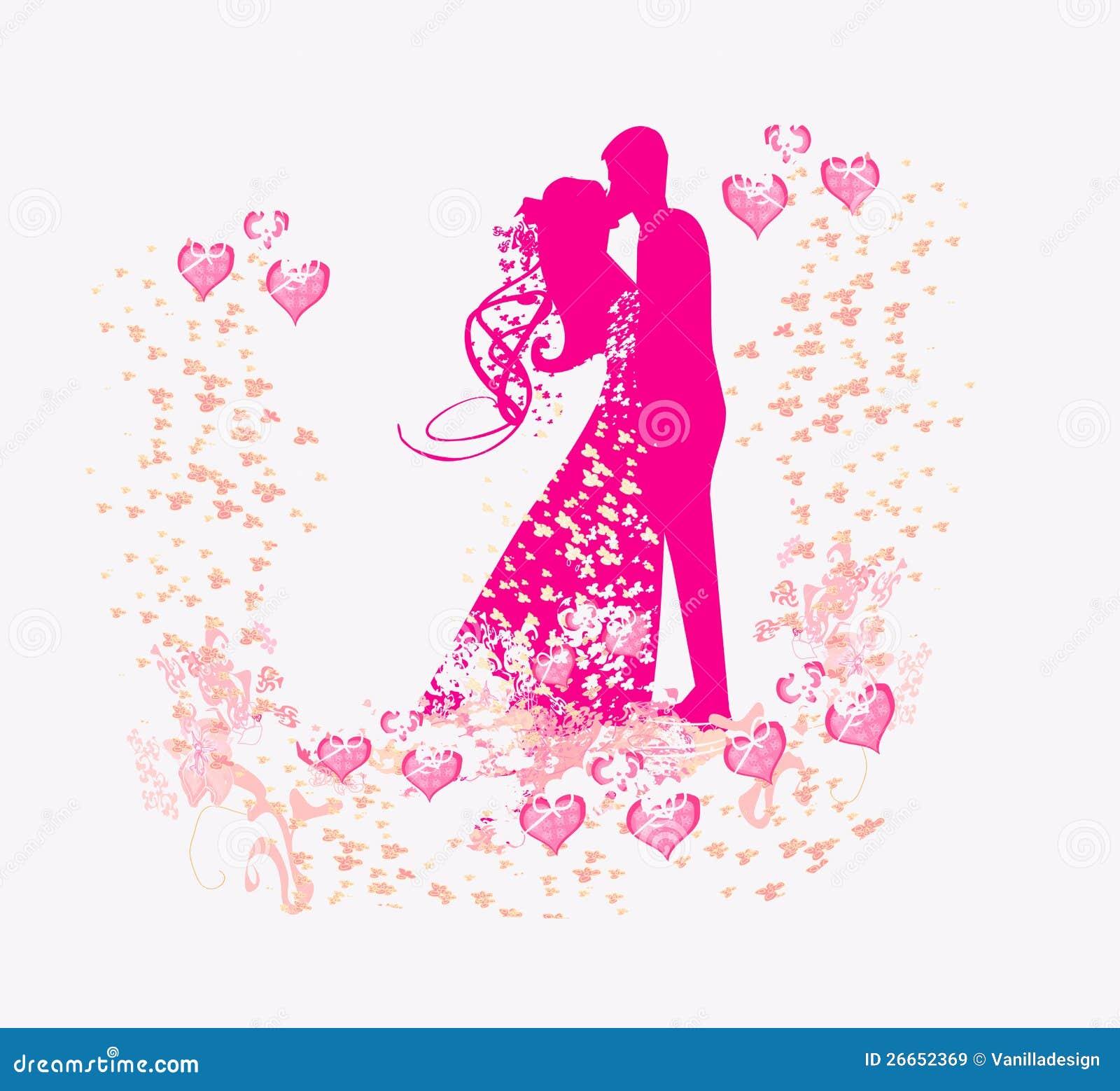 Wedding Dancing Couple Background Royalty Free Stock Images - Image ...