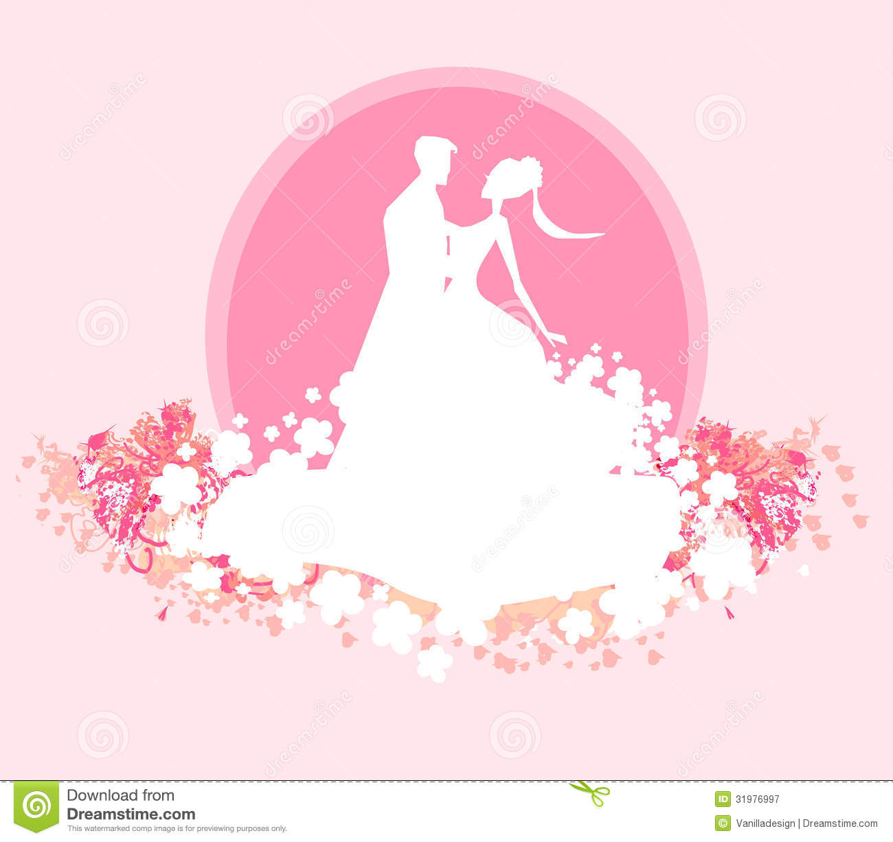 Wedding Dancing Couple Background Royalty Free Stock