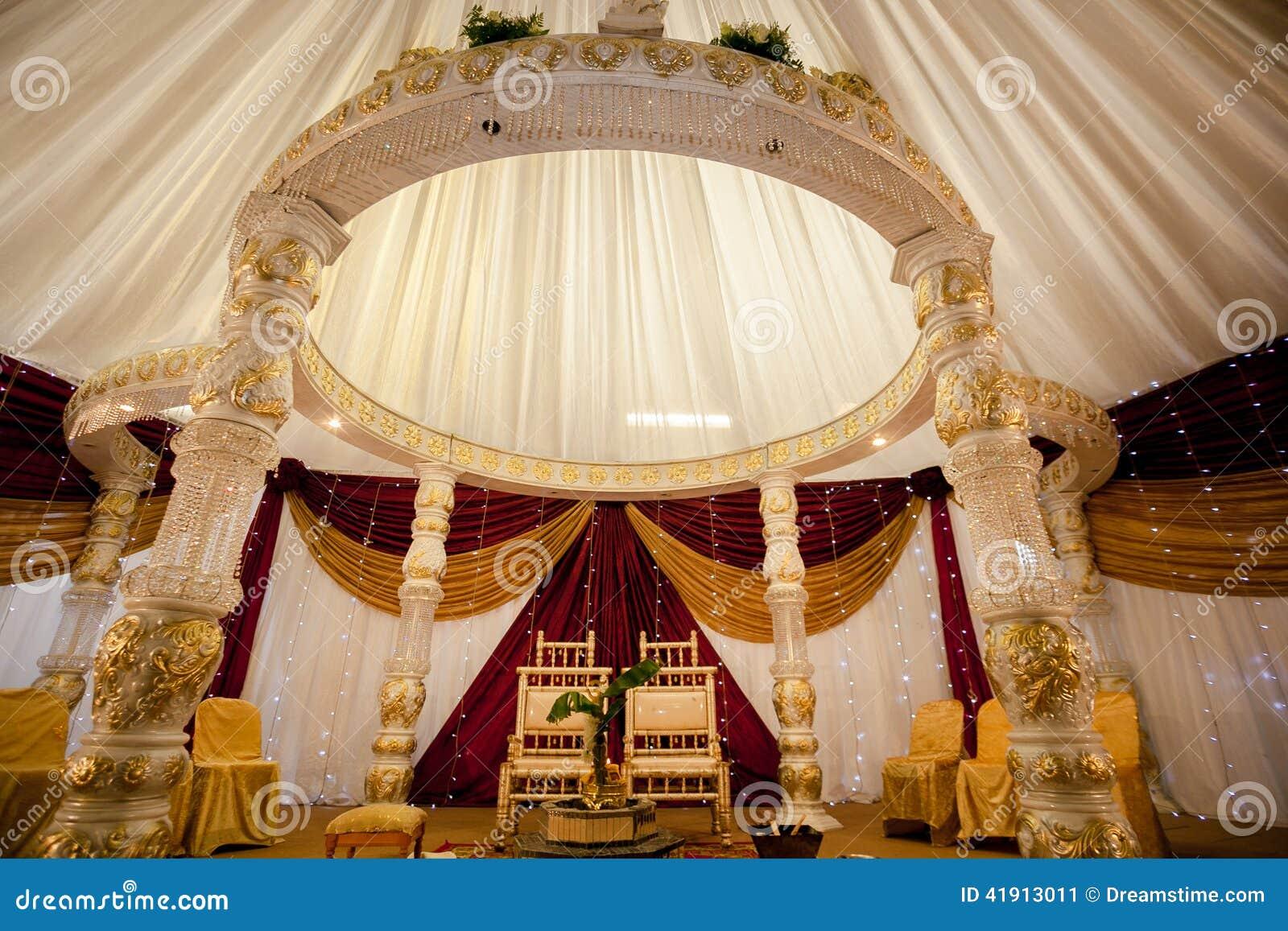 Wedding Decor Stock Image Image Of Beautiful Hindu 41913011