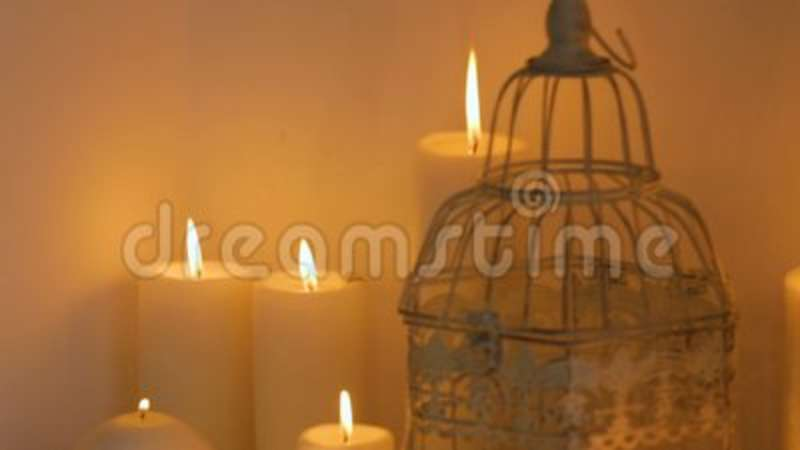 Wedding Decor And Candles Stock Footage Video Of Bohemian 105194654