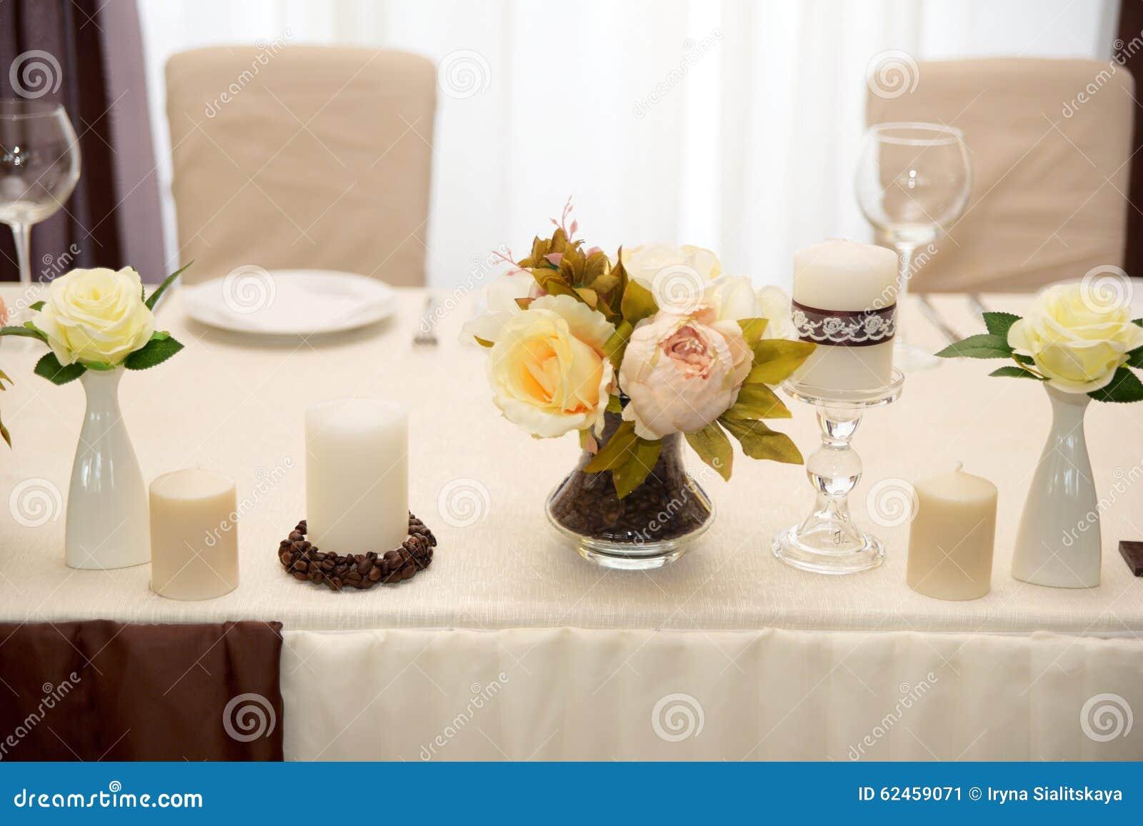 Wedding Decor, Color Coffee Stock Image - Image of design ...
