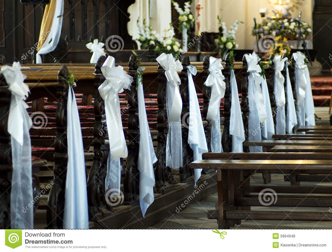Of Wedding Decorations In Church Wedding Decoration Church Stock Photos Images Pictures 2757