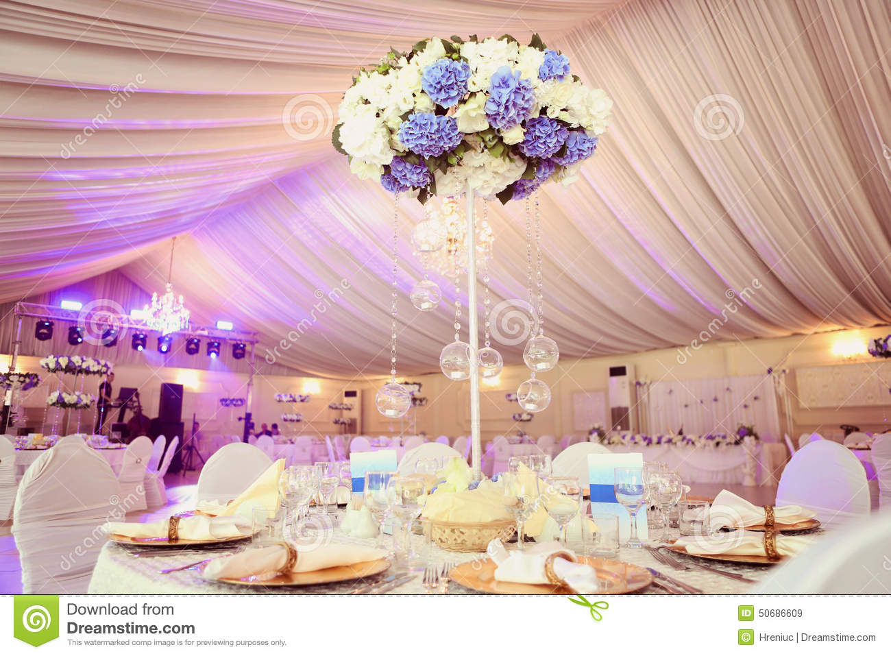 Wedding decoration flowers stock image image of dine 50686609 wedding decoration flowers dine luxury junglespirit Image collections
