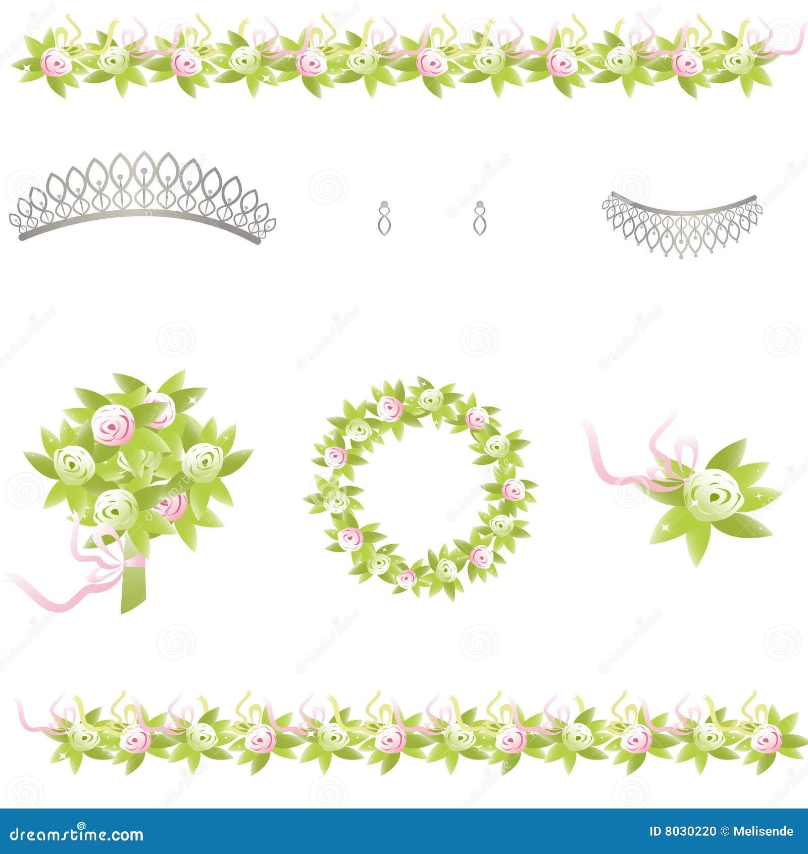 Wedding Design Elements Stock Photo - Image: 8030220