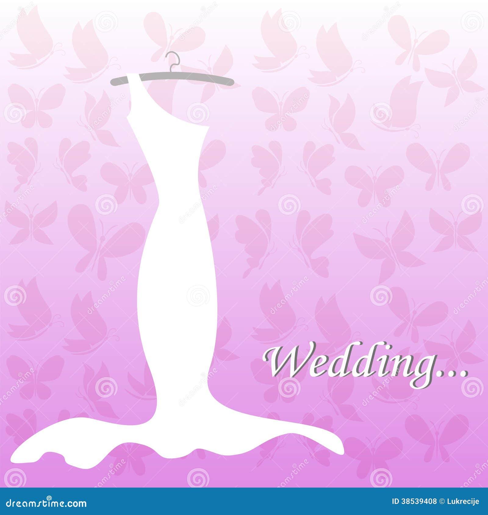 Wedding dress bridal shower royalty free stock photos image