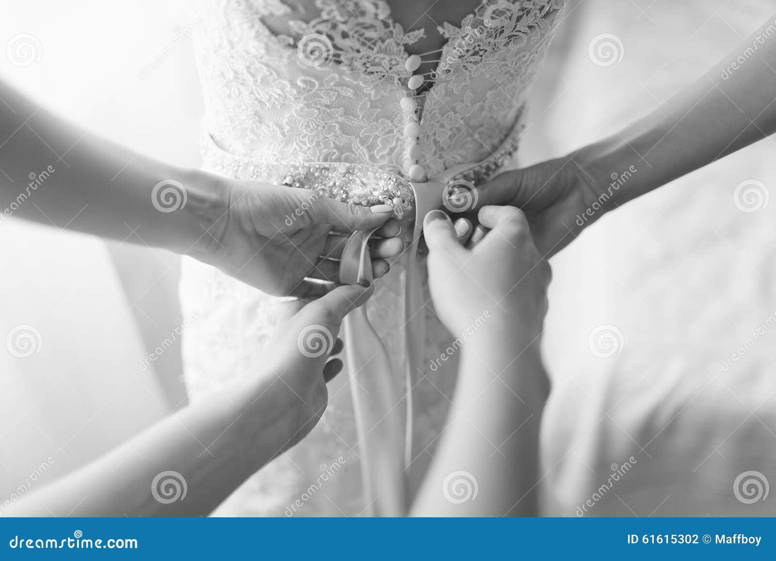 Wedding dress corset