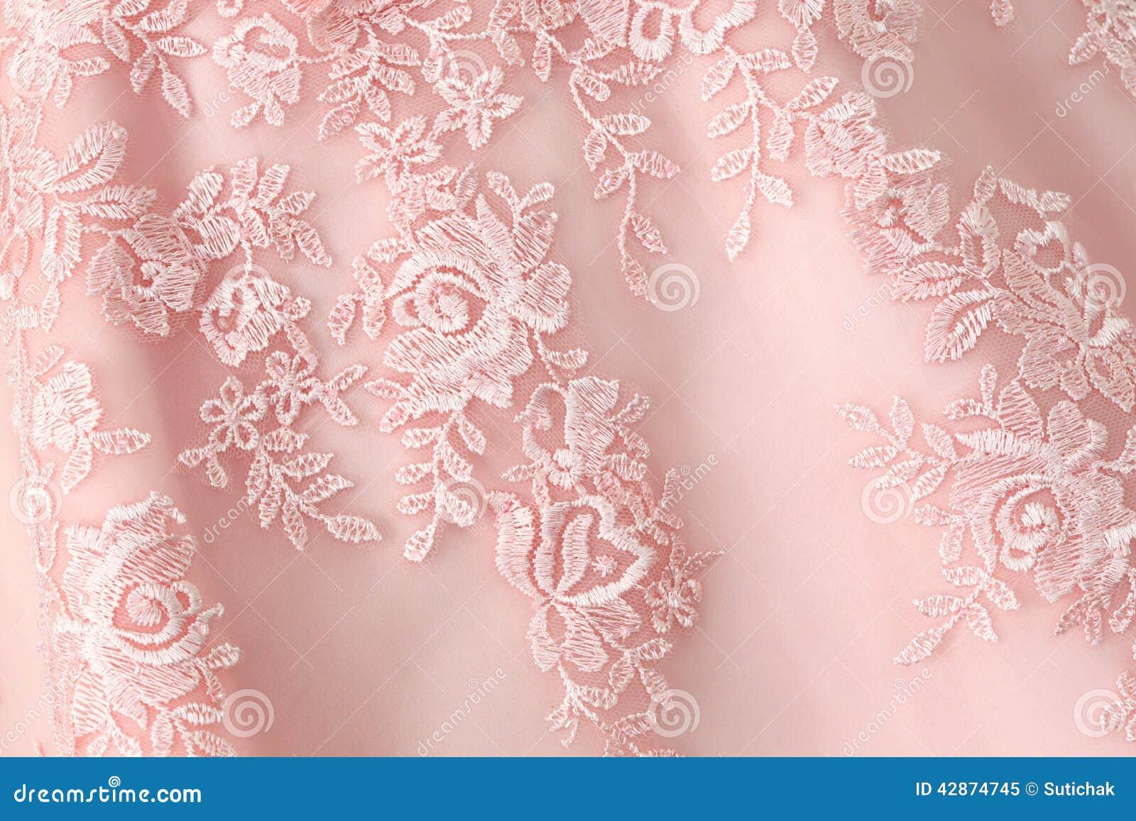 Wedding Dress Texture Stock Image. Image Of Silk, Craft