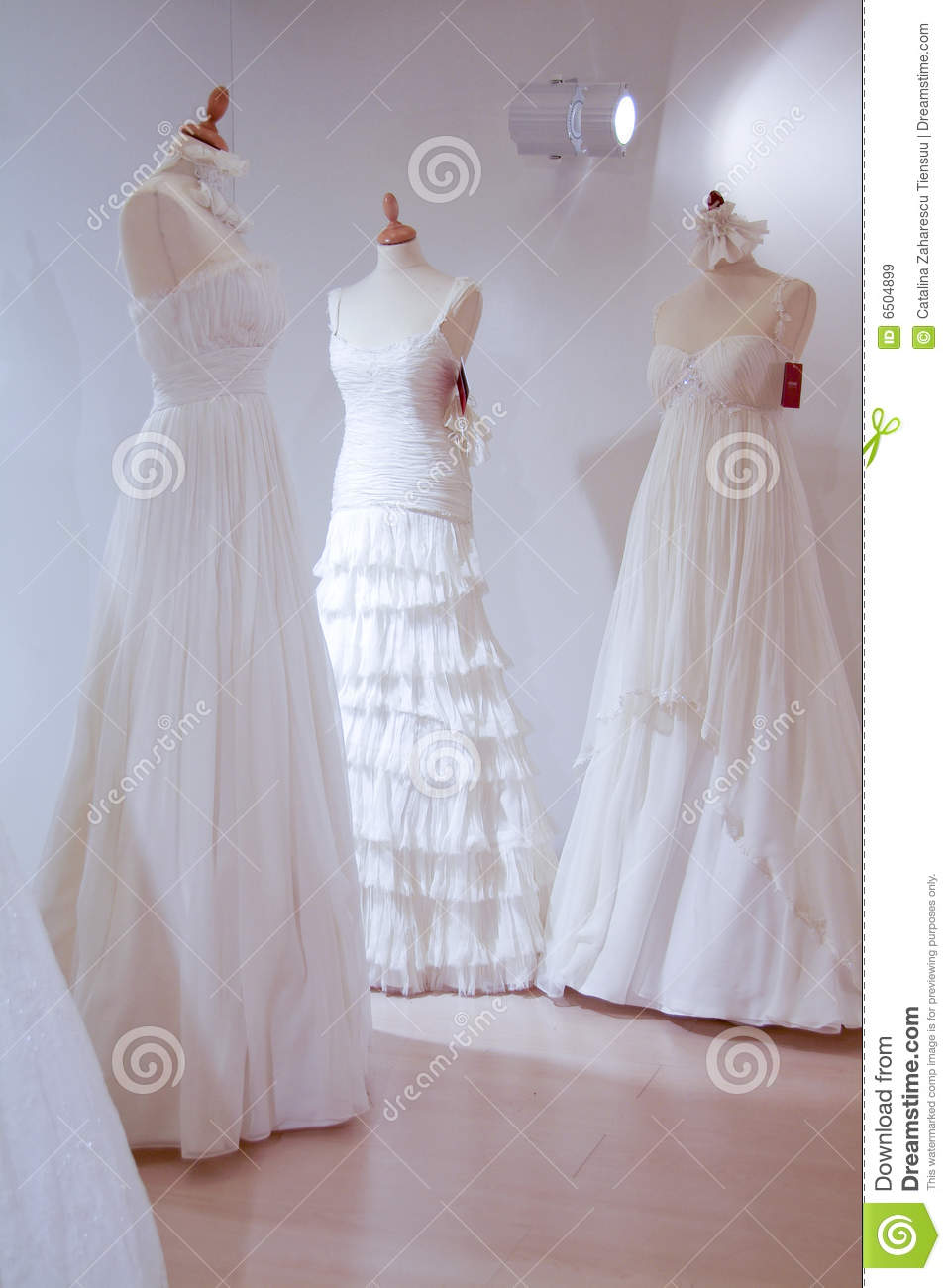 Wedding Dresses Royalty Free Stock Images Image 6504899