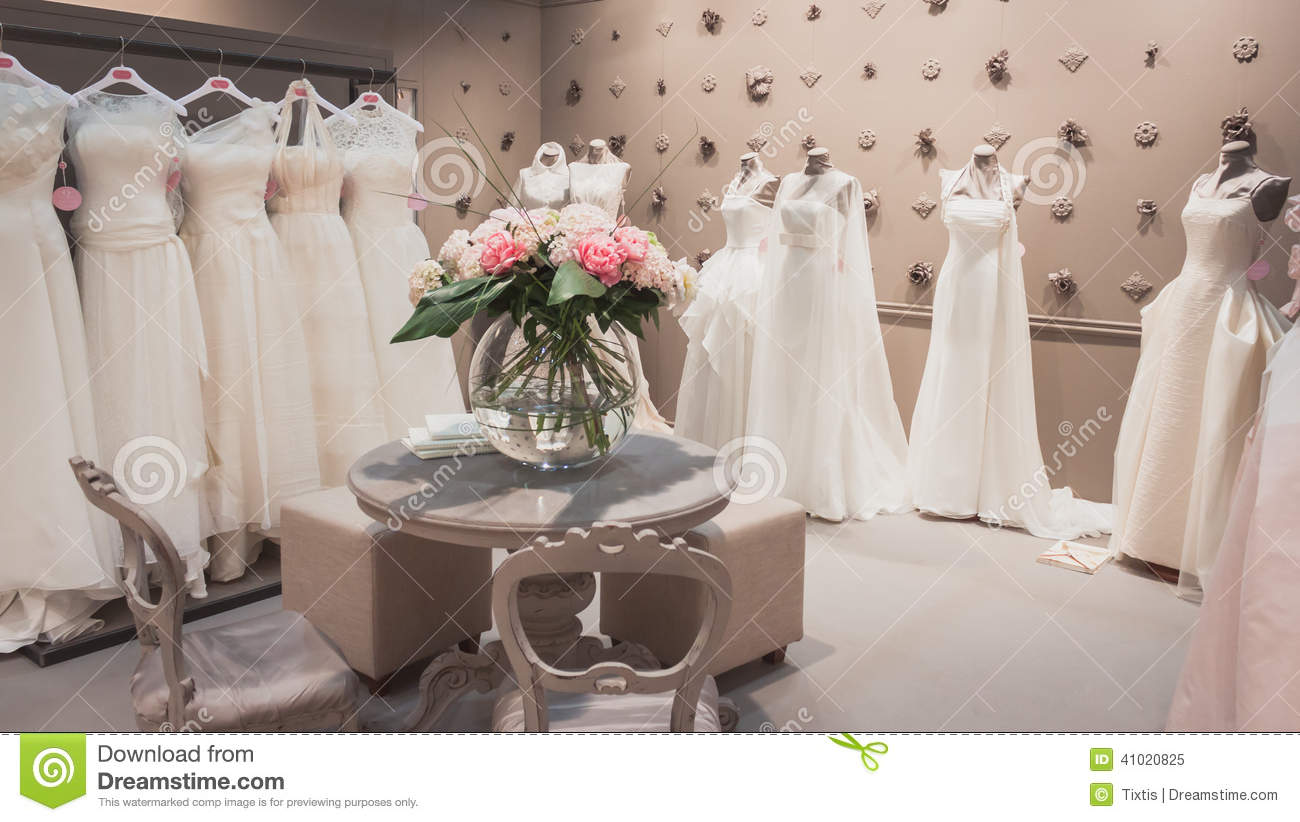 Wedding Dresses On Display At Si\' Sposaitalia In Milan, Italy ...