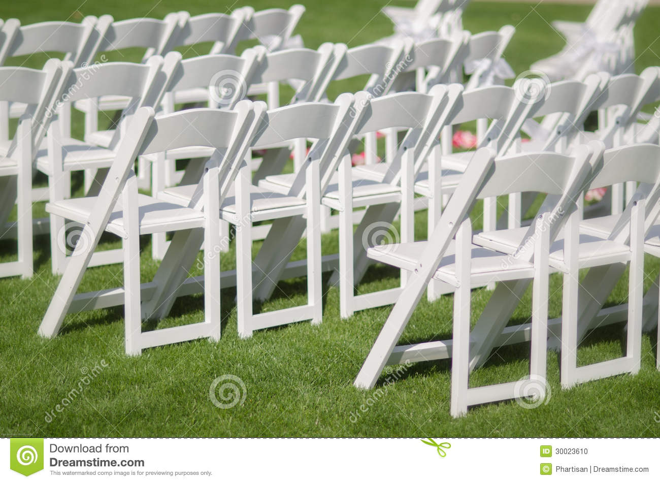 White Chairs At A Wedding Indoor Stock Photo: Wedding Event Seating Stock Photo