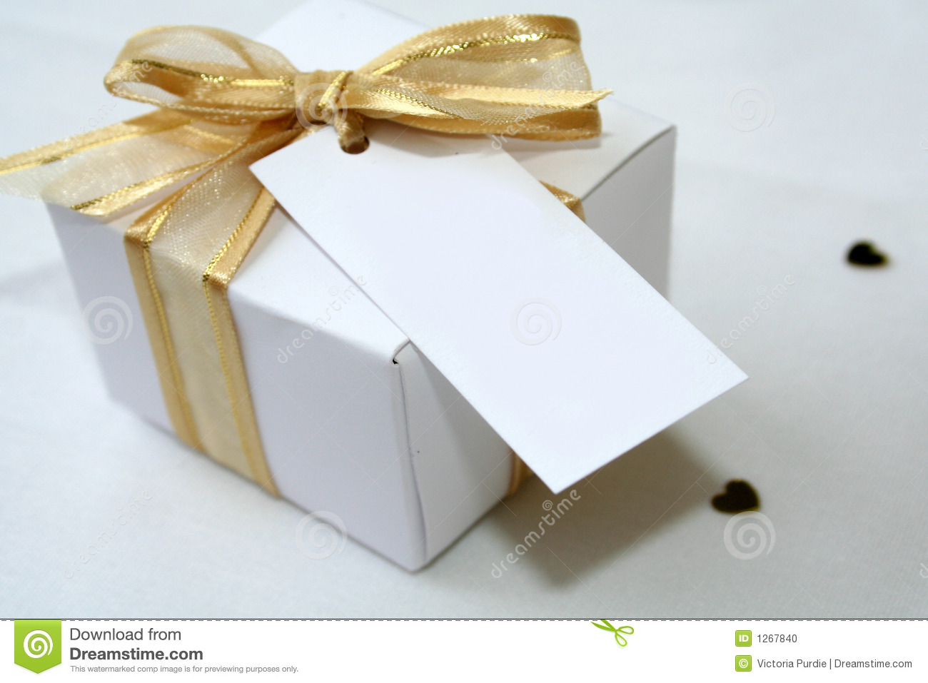 Wedding Favor Box Stock Photo - Image: 1267840