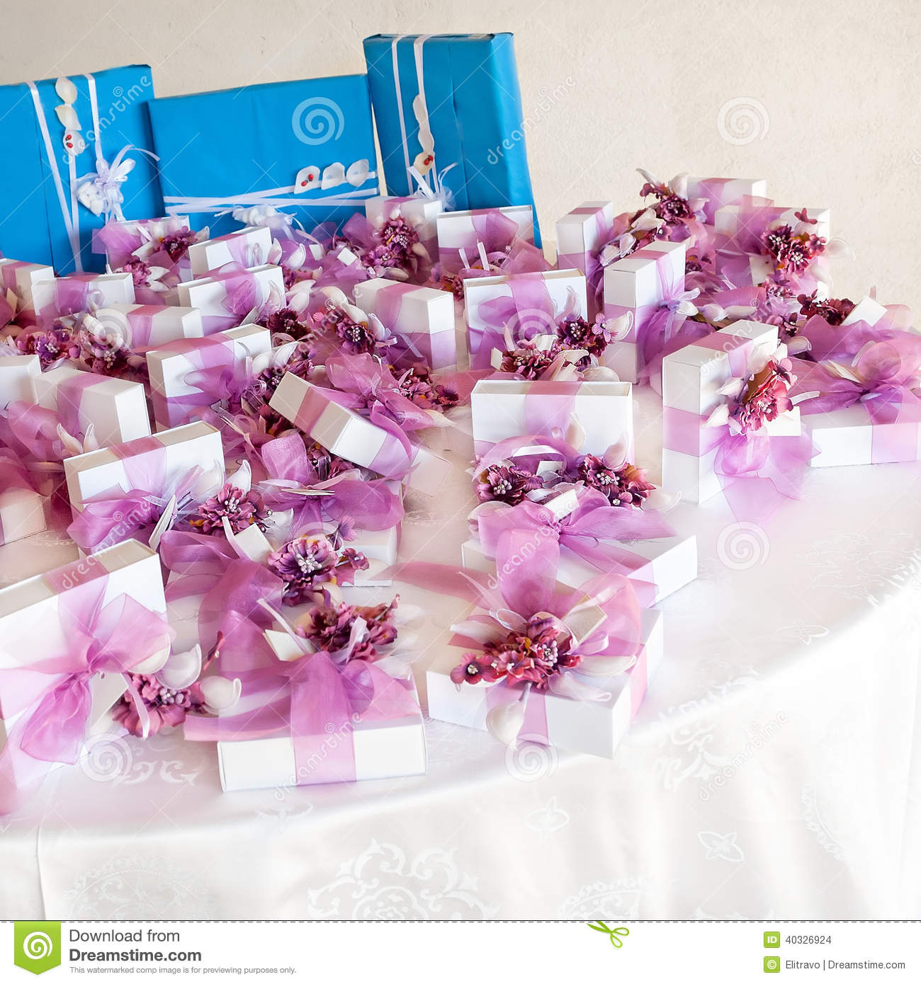 Wedding favors stock photo. Image of marriage, event - 40326924