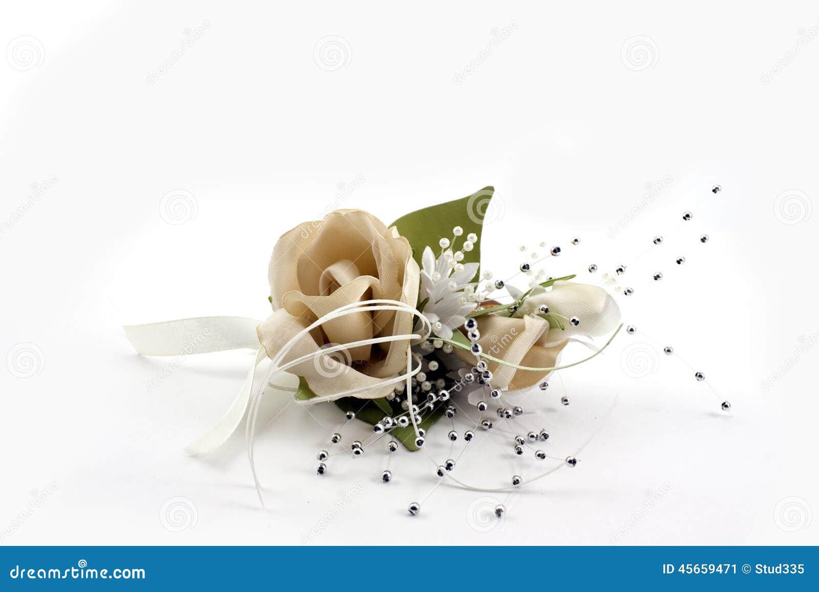 Wedding flower on white background stock photo image for White wedding wallpaper