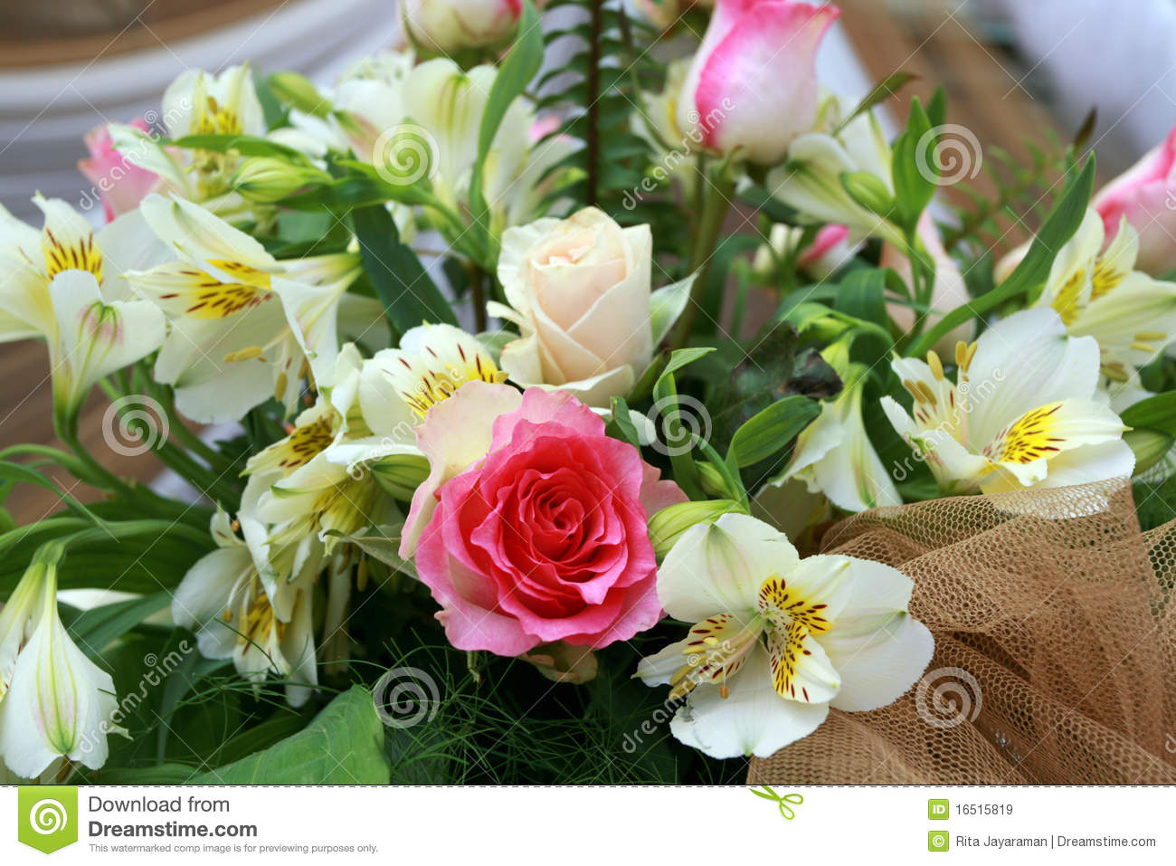 wedding flowers stock image. image of floral, love, arrangement