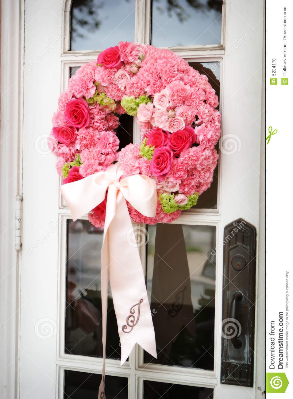 Wedding Flowers Outside A Church Stock Photo - Image of fresh ...