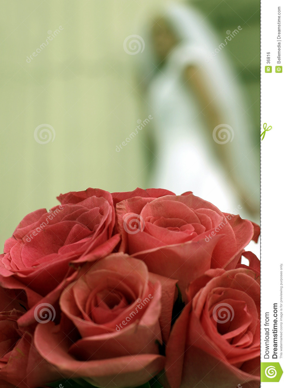 Wedding flowers and roses