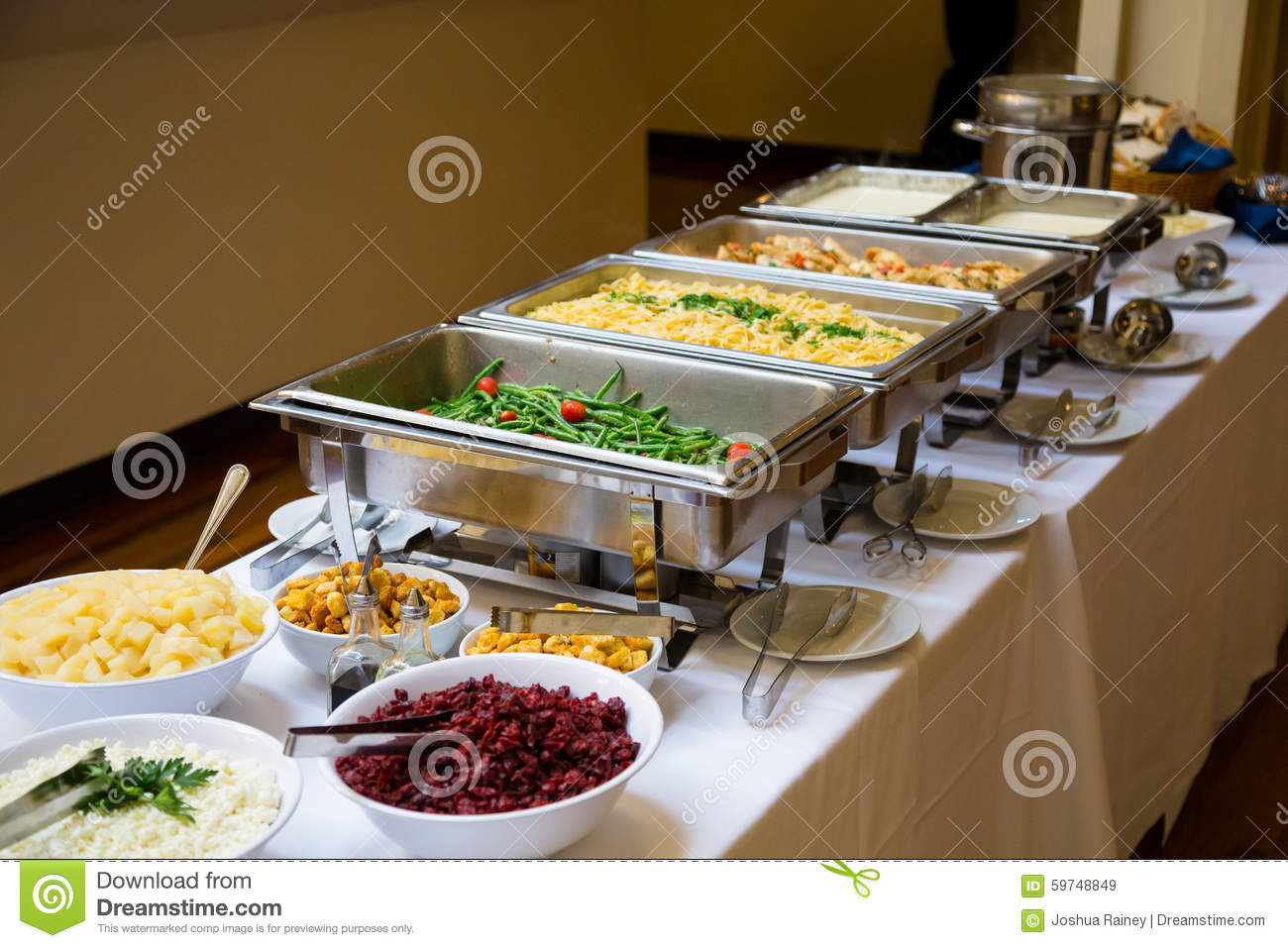 Wedding food stock image image of weddings meal buffet 59748849 - Stylish cooking ...
