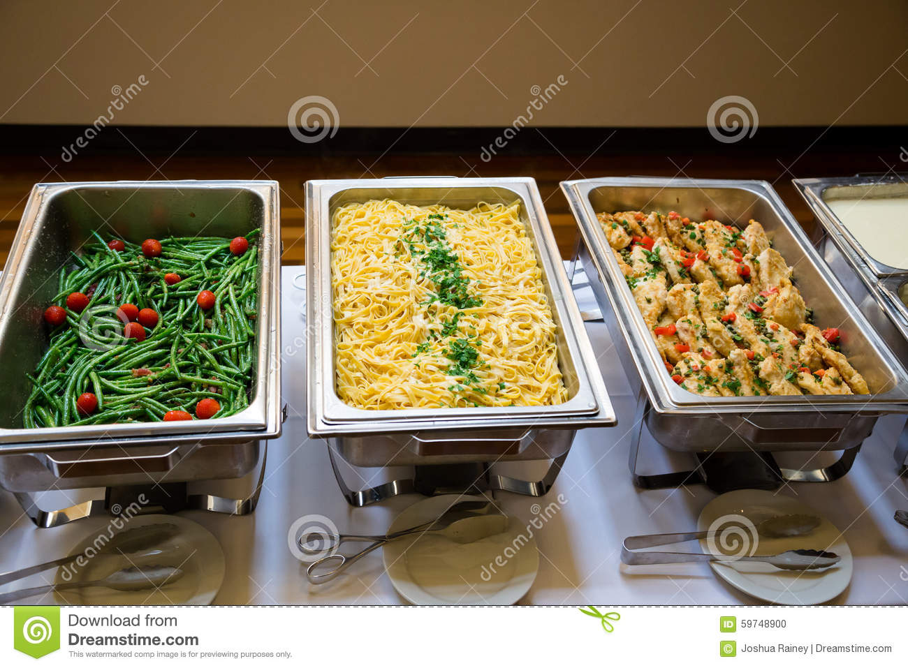 Wedding Food Stock Photo