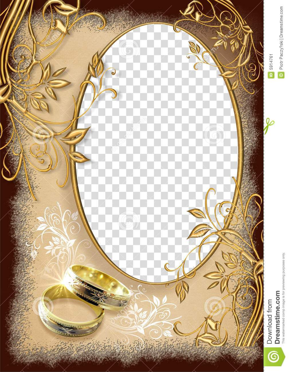 Wedding Frame Stock Illustration Illustration Of Frame 5914761
