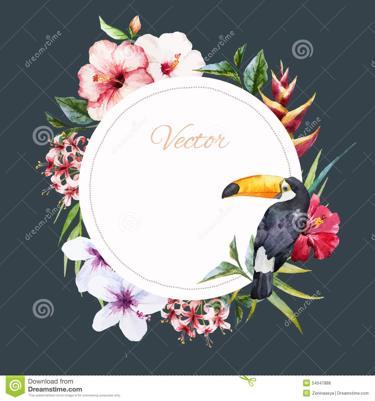Wedding frame stock vector. Illustration of nature, invitation ...