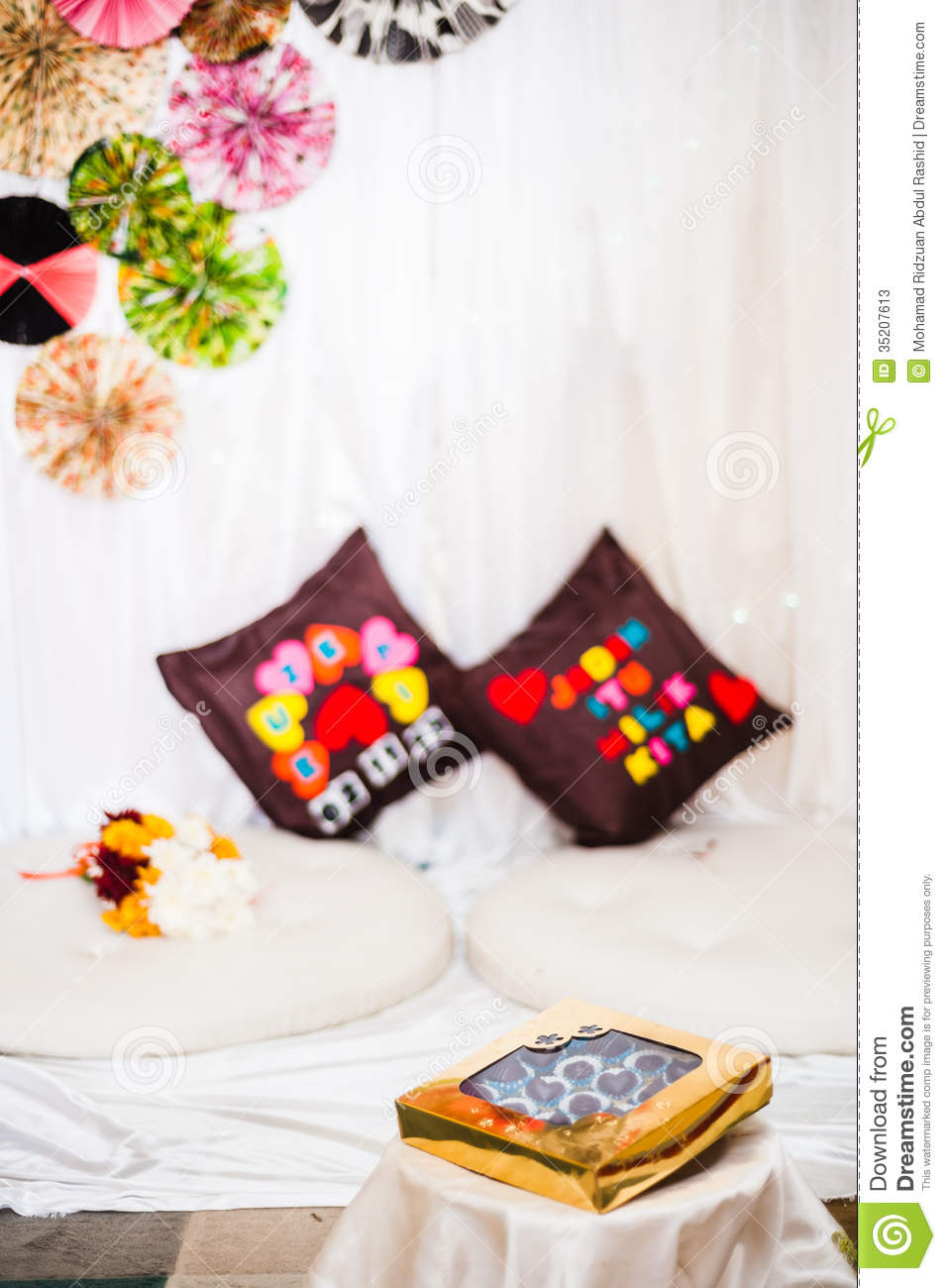 Wedding Gift Decoration Stock PhotosImage: 35207613
