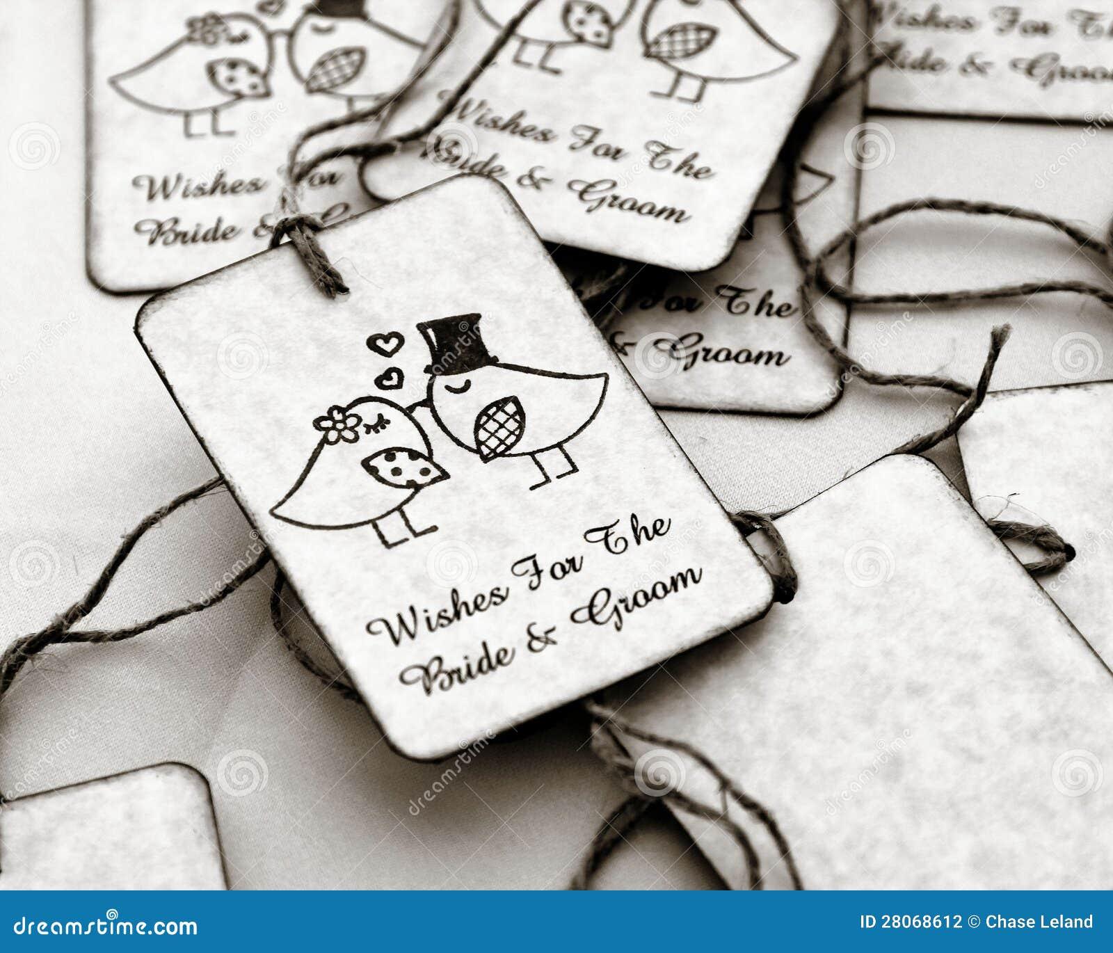 Wedding Gift Tags Stock Photo Image Of White Weddings