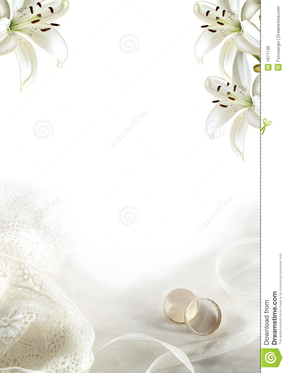 Wedding Greeting 02 Stock Illustration Illustration Of Color 1671139
