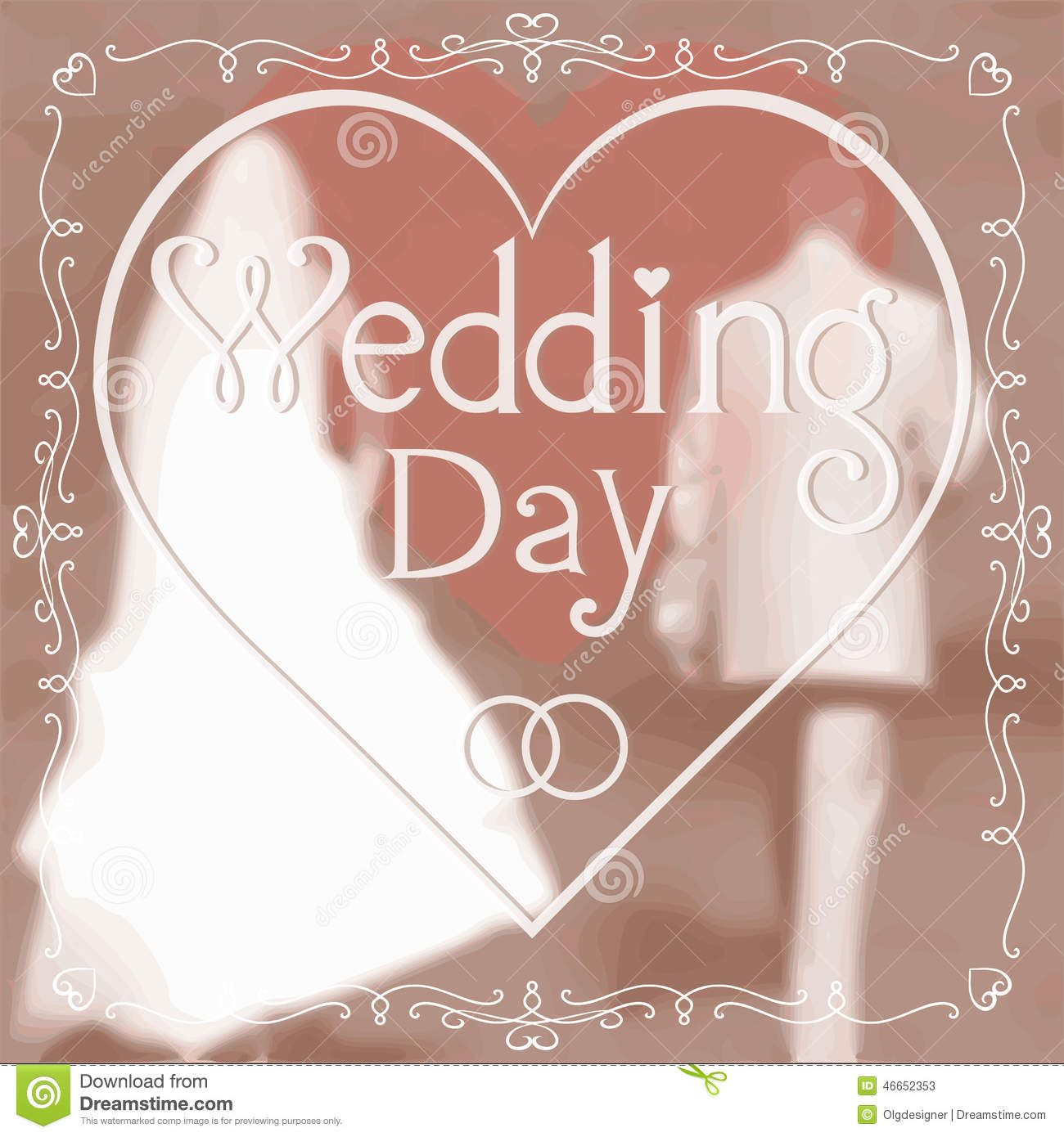 Wedding Greeting Card Vector Image 46652353 – Wedding Greeting Cards Quotes