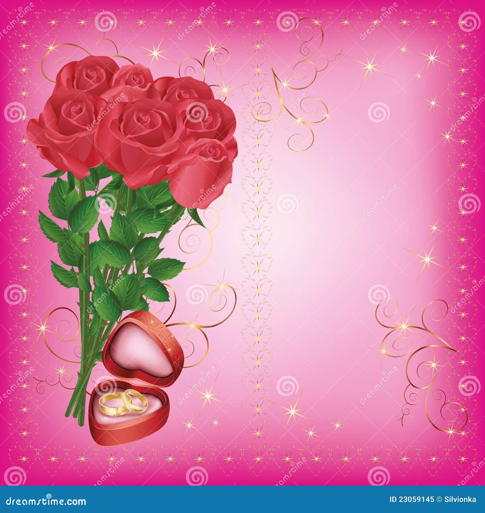 wedding greeting and invitation card royalty free stock
