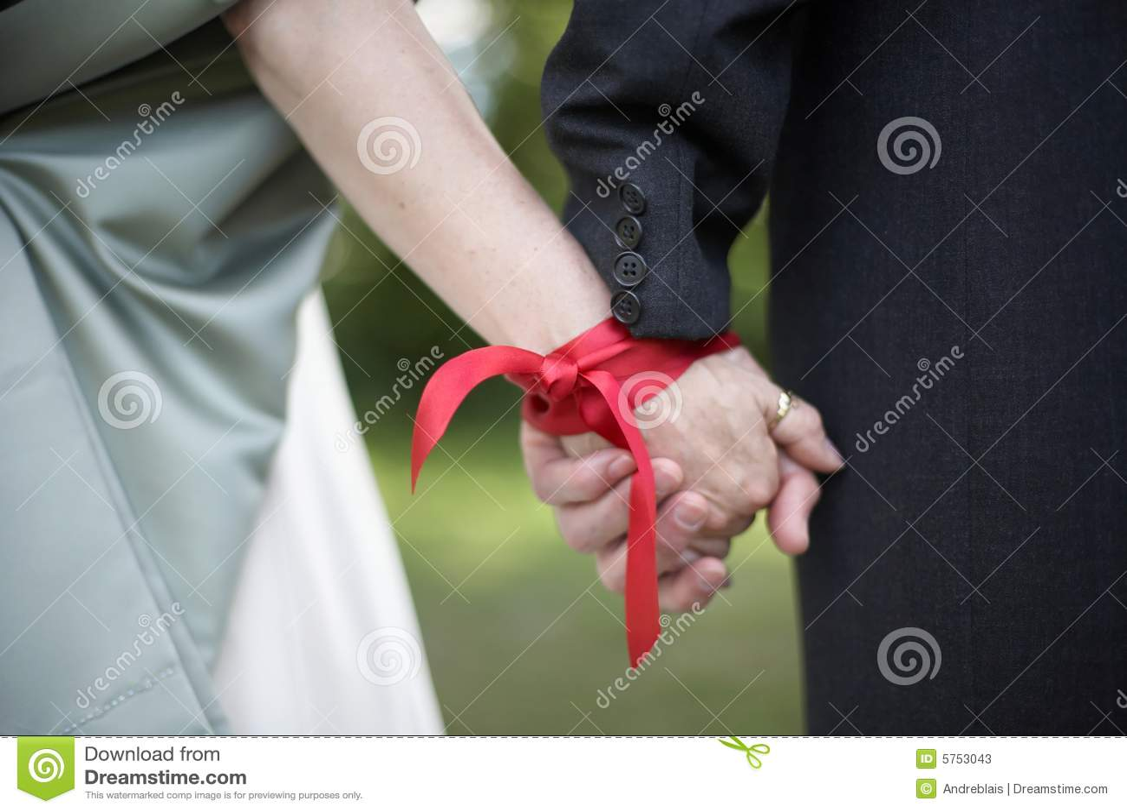 Wedding Handfasting Ceremony Stock Photos Image 5753043