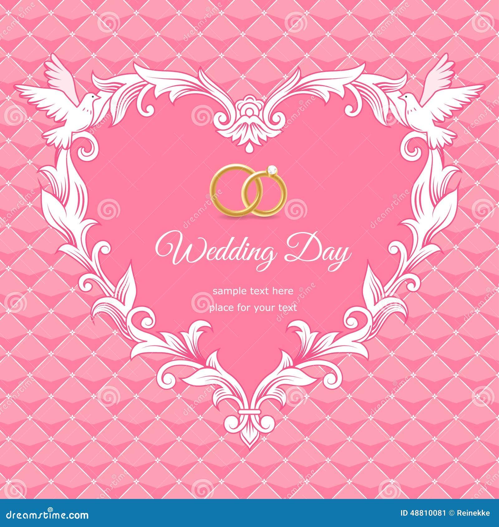 Wedding Heart Stock Vector Image 48810081