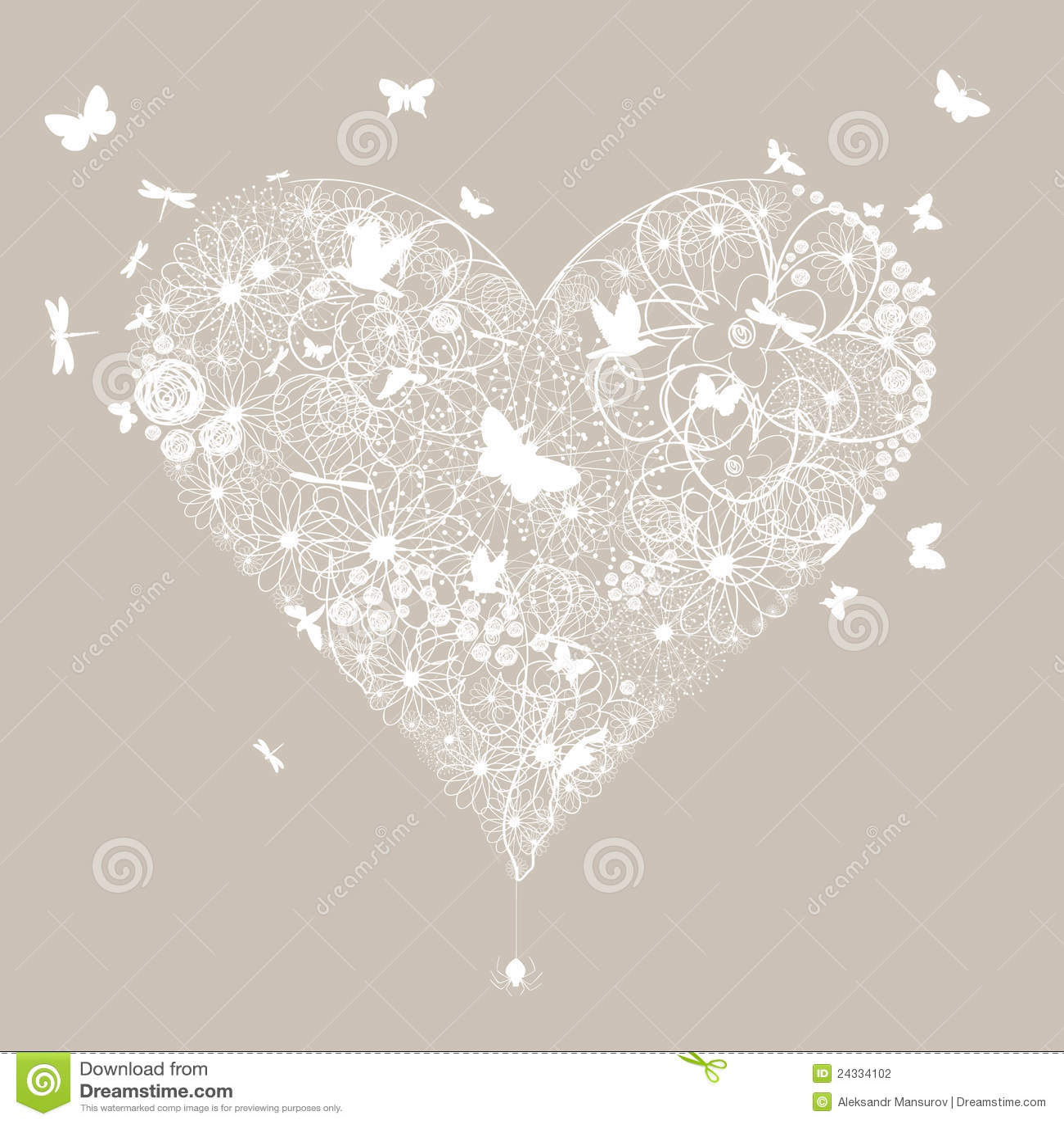 Wedding heart5