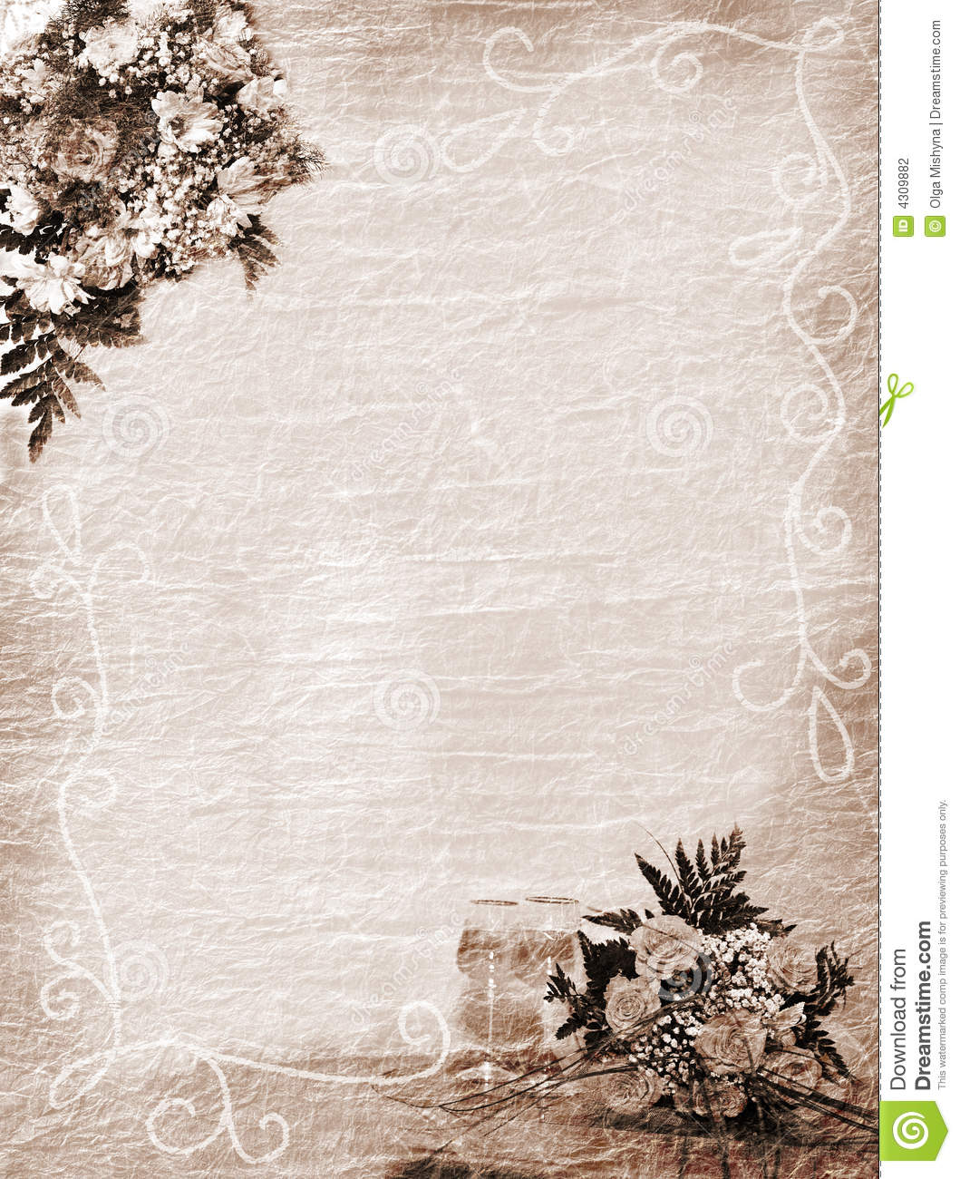 Wedding holiday or anniversary background stock