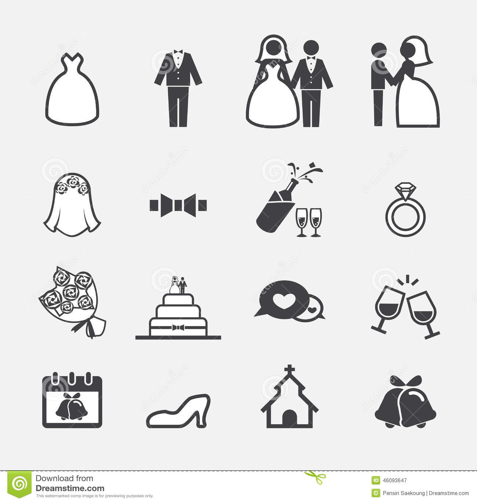 Wedding ring illustration