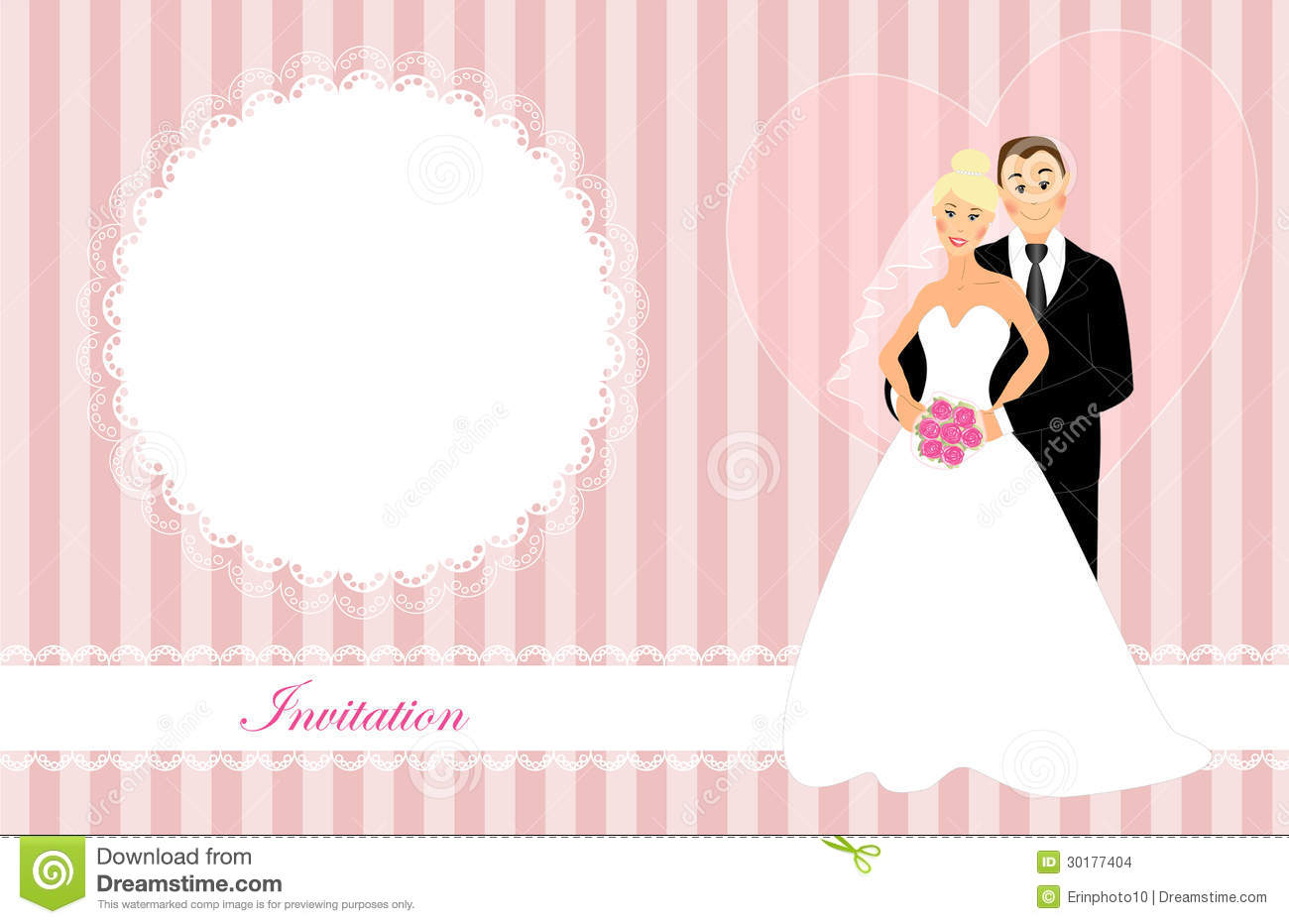 Wedding Invitation Stock Images Image 30177404