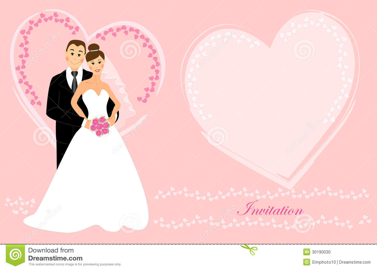 Wedding Invitation 6 Stock Illustration Image Of Eyes: married to design
