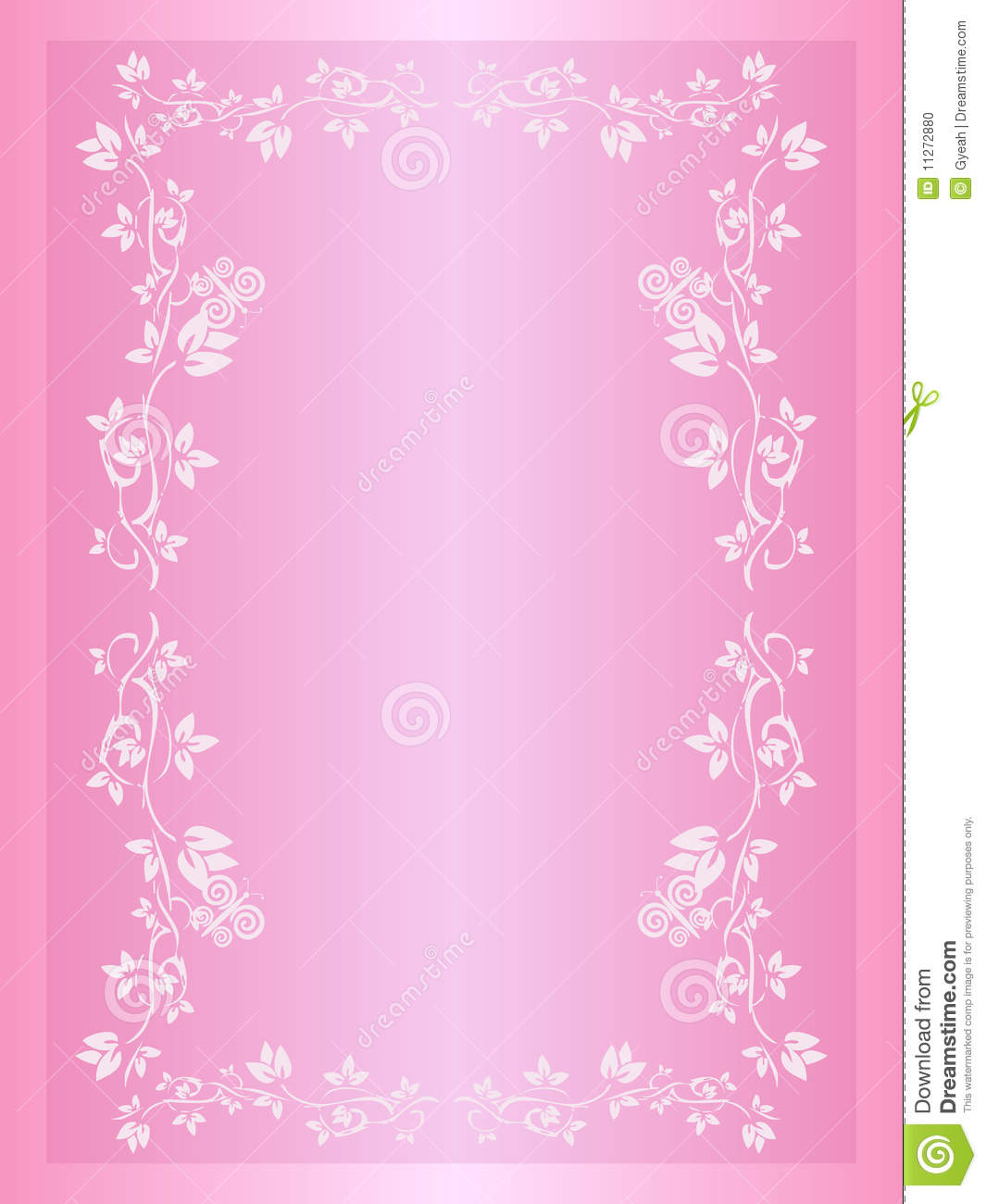 Wedding Invitation Background Stock Vector Illustration Of