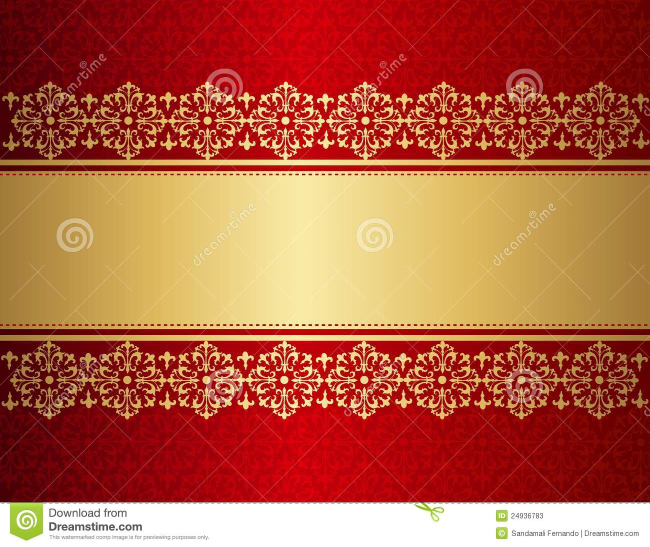 Wedding Invitation Background Stock Vector Illustration Of Empty