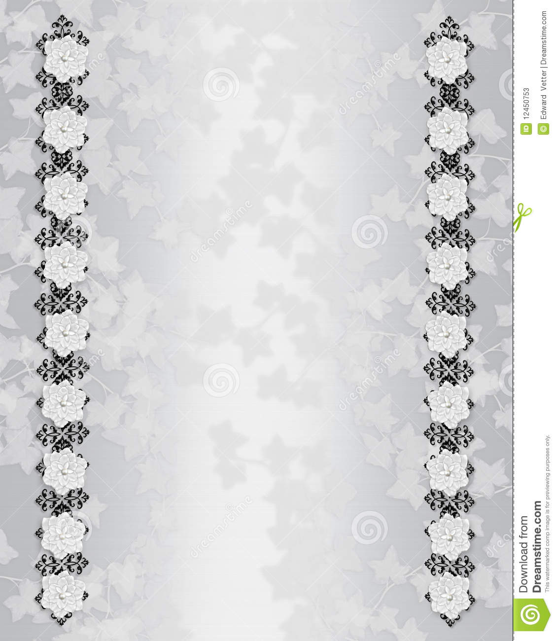 Decorated Background Designs Elegant White