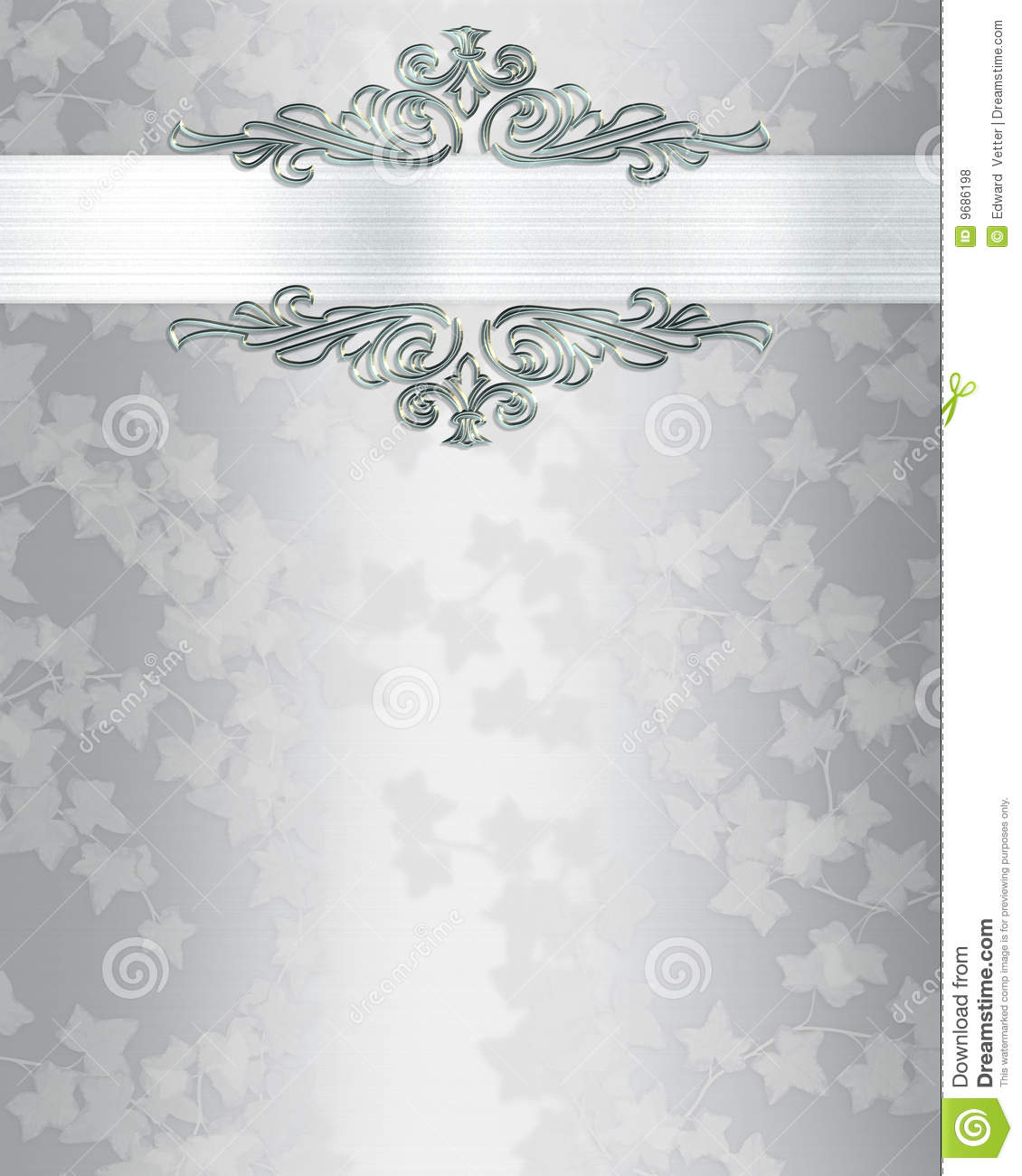 Wedding Invitation Background Elegant Stock Illustration Illustration Of Invite Birthday 9686198
