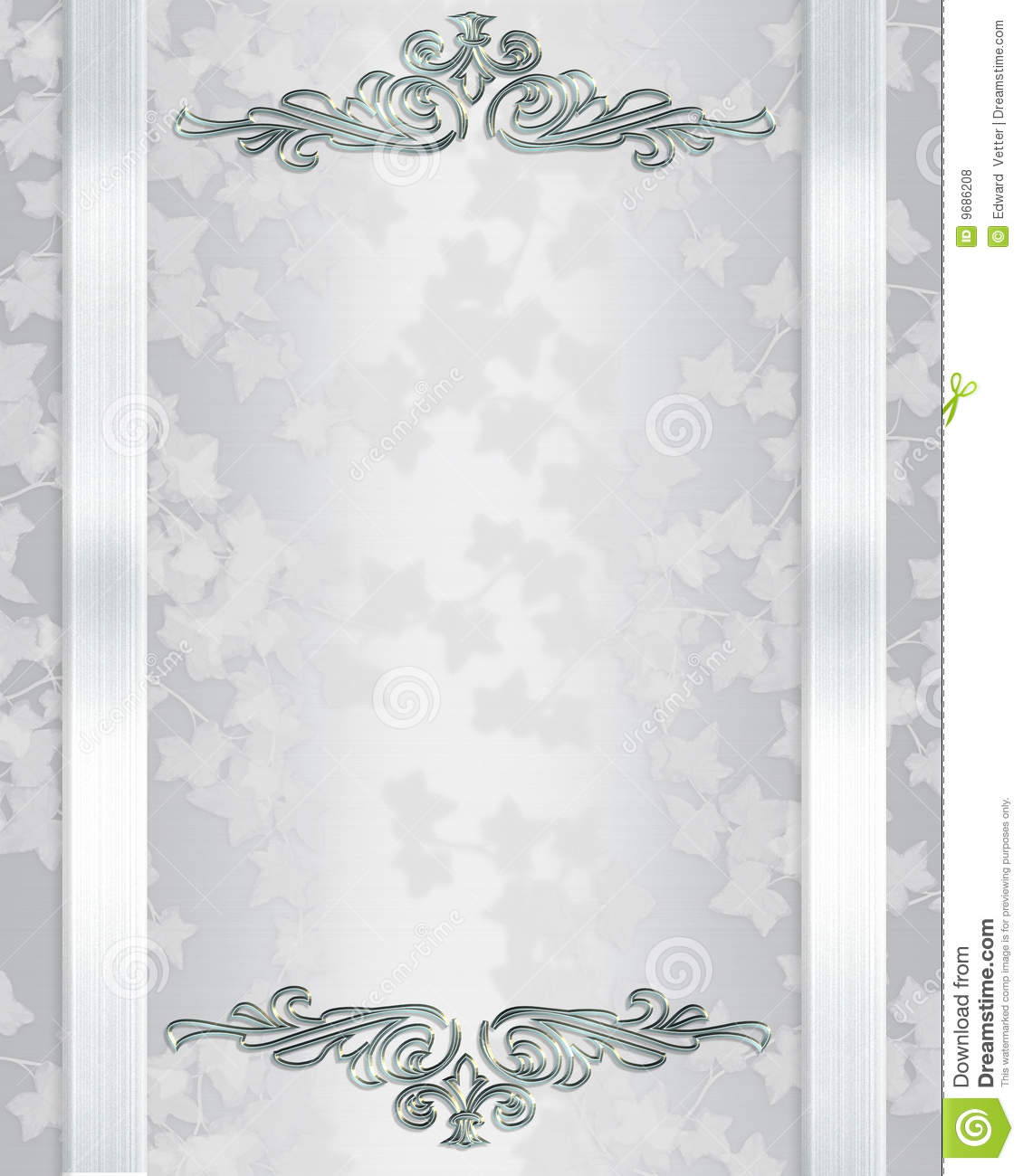 Wedding Invitation Background Elegant Stock Illustration - Image ...