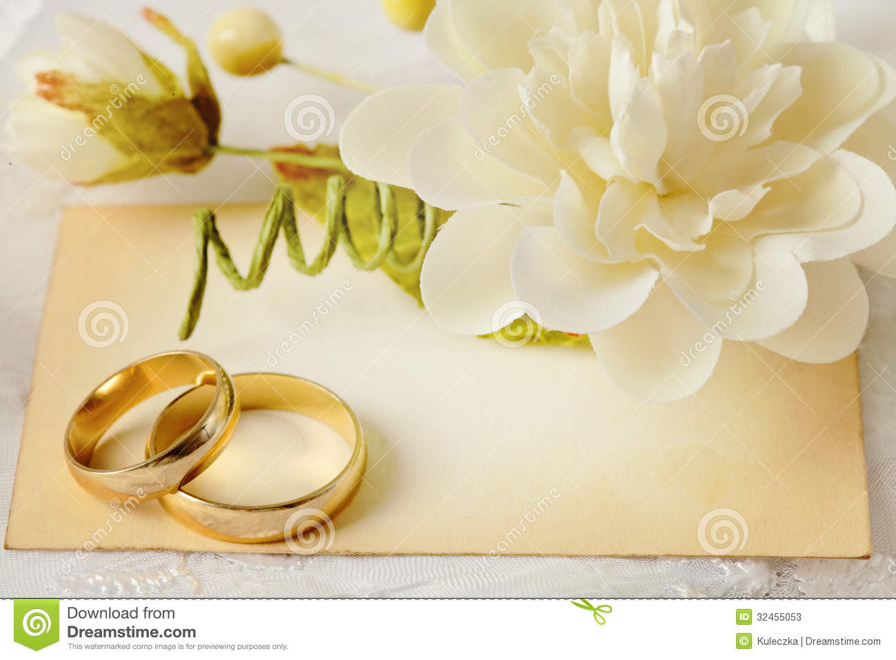 Wedding invitation stock image Image of wedding gold 32455053