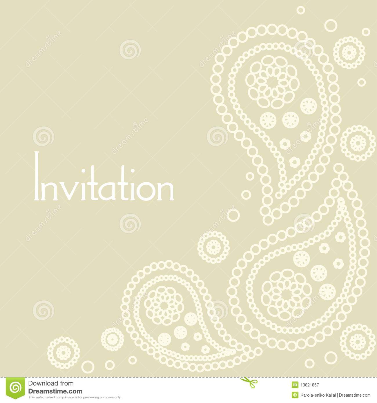 Blank wedding invitation design templates - visualbrains.info