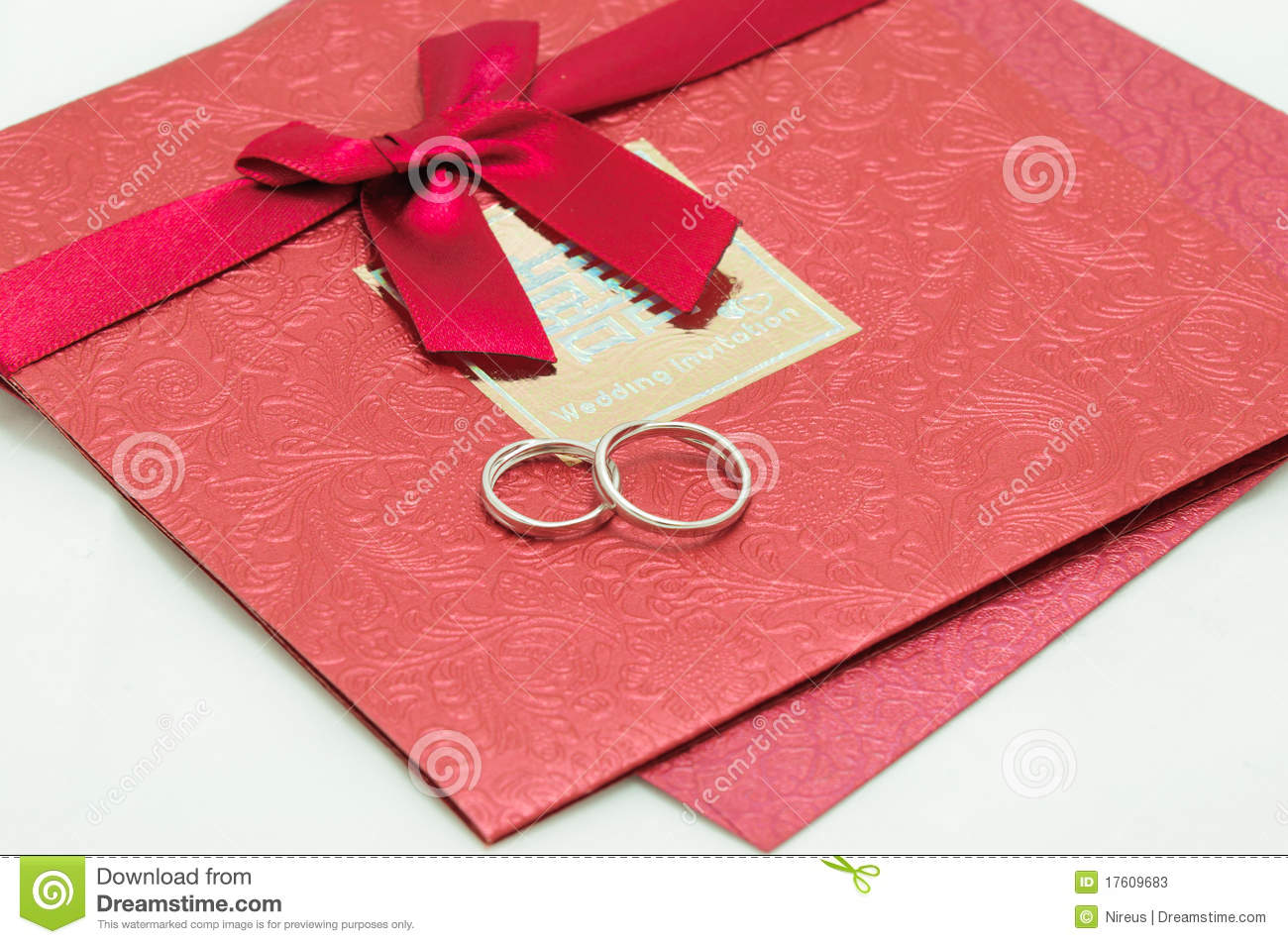 Wedding Invite Card Stock: Wedding Invitation Card Stock Image. Image Of Happiness