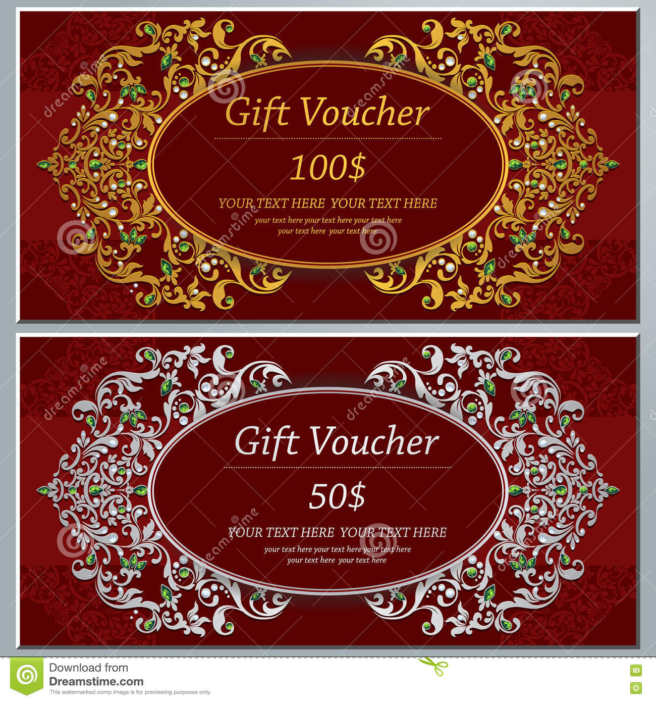 Wedding Invitation Or Card With Abstract Background. Stock Image ...
