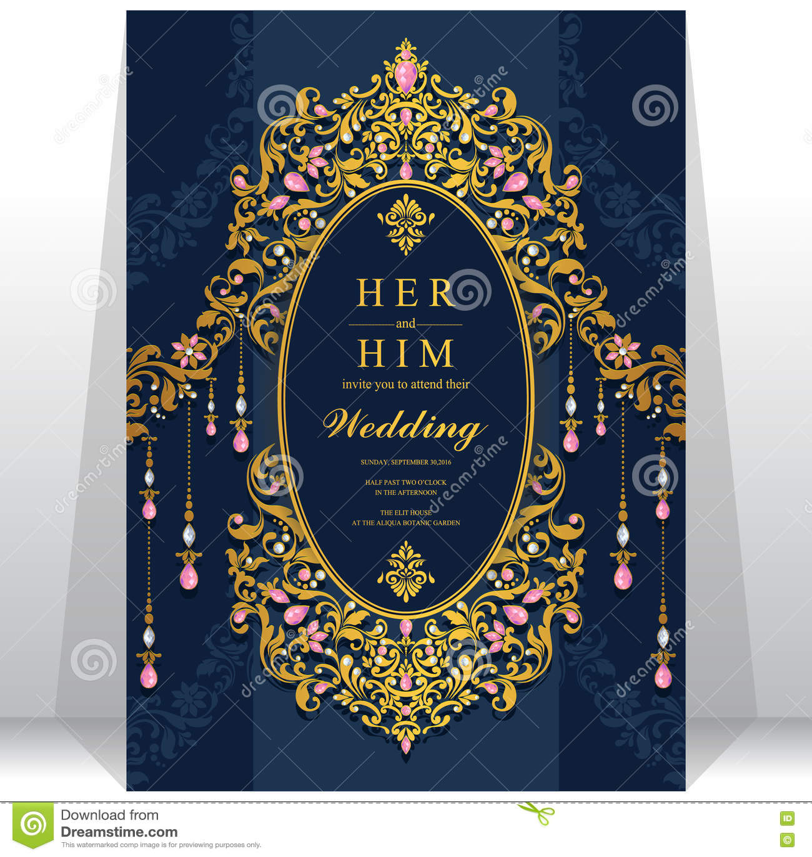 Wedding invitation or card with abstract background stock wedding invitation or card with abstract background islam arabic indian dubai stopboris Choice Image