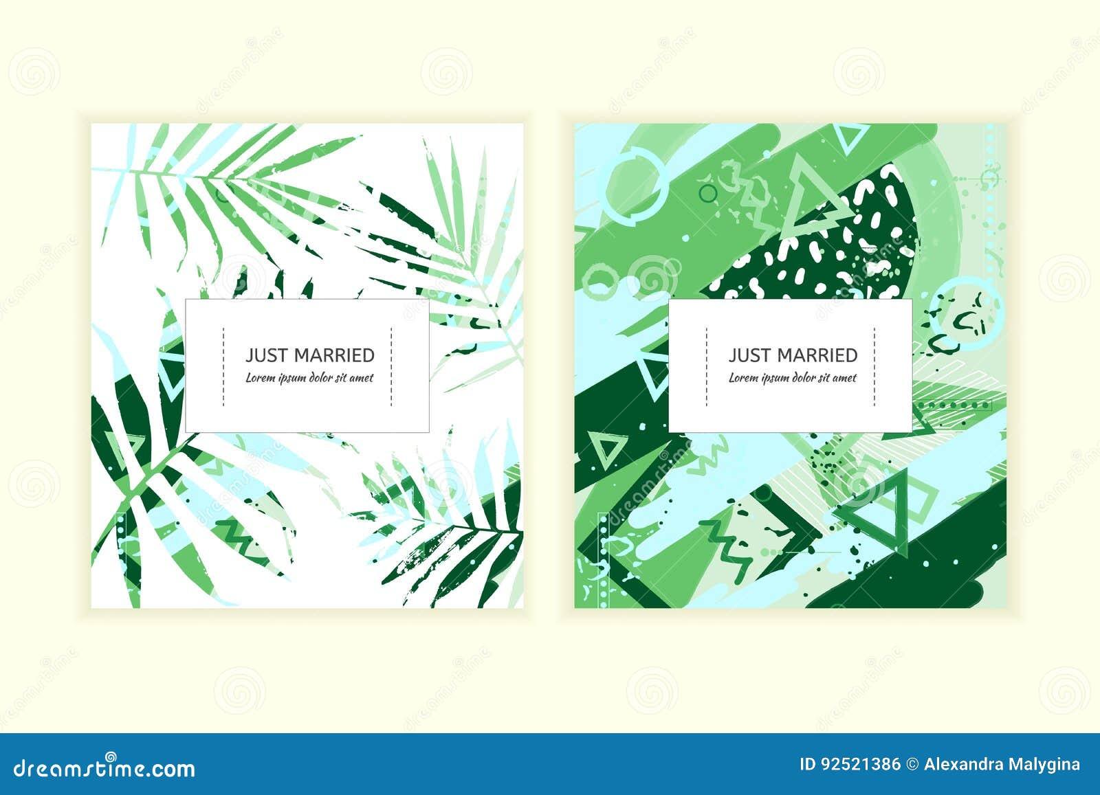 Wedding Invitation Card Stock Vector Illustration Of