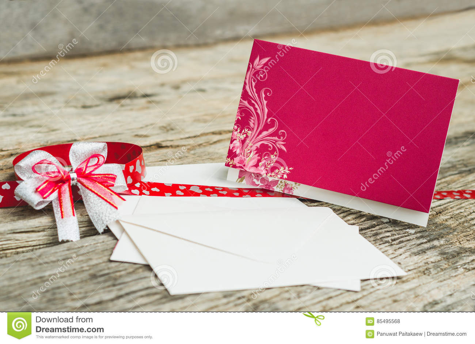 Wedding Invitation card stock photo. Image of invitation - 85495568