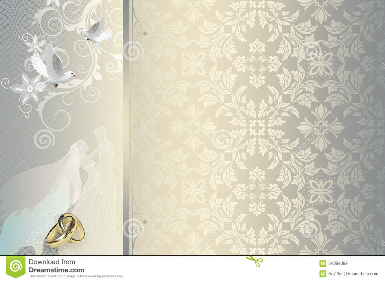 Free Wedding Invitation Background Designs: Wallpaper Wedding Invitation Card